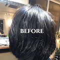 #くせ毛の悩みの画像