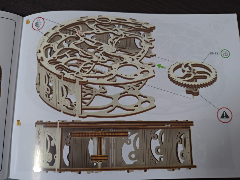 Wooden Cityの振り子時計モデルを作ってみた!(7) | hank-san