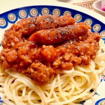 今日のなよちゃ飯~濃厚トマトジュースで煮込んだミートソースの記事に添付されている画像
