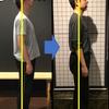 姿勢改善報告「第一弾」反り腰の男性の画像