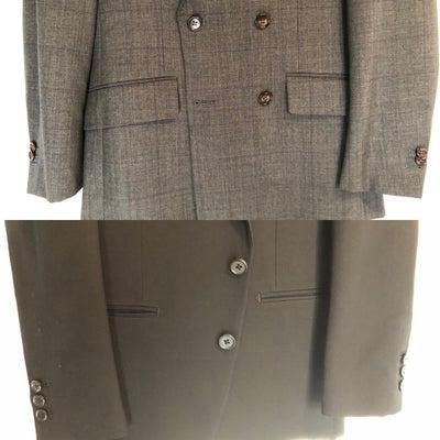 【スーツのポケットのフタ 出す?出さない?】の記事に添付されている画像
