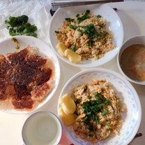 本日の朝昼兼用御飯の記事に添付されている画像