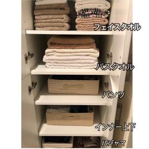 大阪市住之江区にて、新居の収納の画像