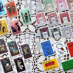 ハンガリーの刺しゅう切手などUPしましたの画像