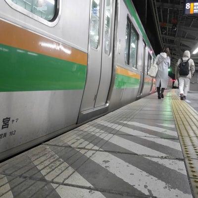 トランスイート四季島の朝日のギラリ@尾久(1月29日)の記事に添付されている画像