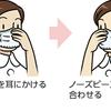 マスクの正しい使い方の画像