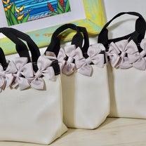 またまた追加ご依頼!ノベルティバッグをリボン&りぼんデコ  北品川 リボンレイ の記事に添付されている画像