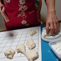 レッスンの流れ【天然酵母パン教室:京都宇治】の記事に添付されている画像