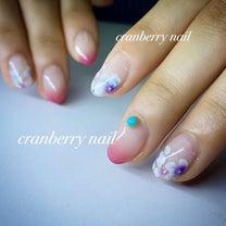 cranberry  nailの施術方法セミナーの記事に添付されている画像