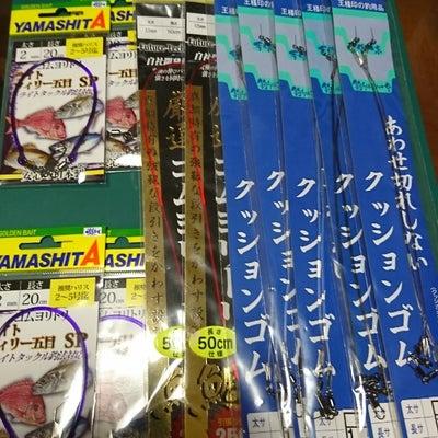 ガゴ釣り天秤クッションゴムの記事に添付されている画像