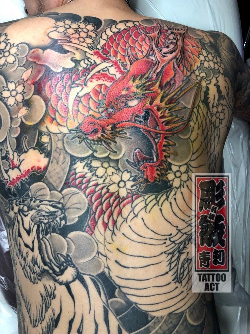 札幌タトゥースタジオ TATTOO ACT#龍刺青 #虎刺青 #札幌タトゥー #札幌刺青 #すすきのタトゥー #すすきの刺青