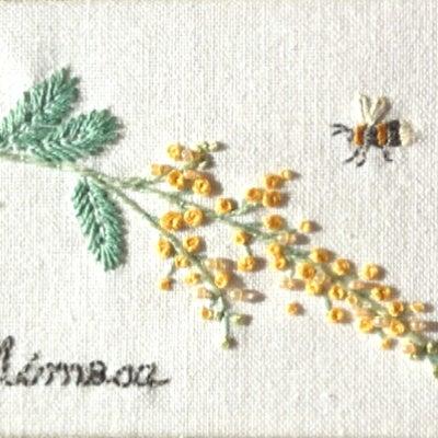 お花の刺しゅう(11)の記事に添付されている画像