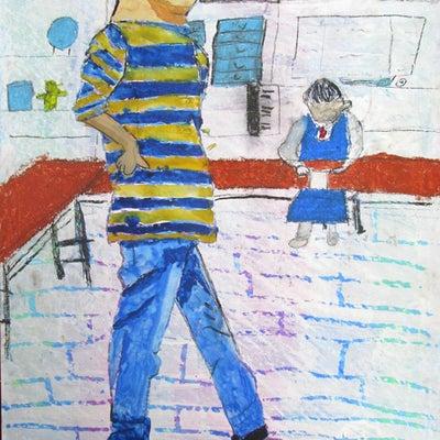 人物描写 作品紹介 小学5年生の作品の記事に添付されている画像