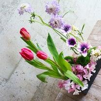 生花のフラワーレッスン、選ぶ花で雰囲気が変わる♡生徒作品♡の記事に添付されている画像