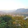 プーシーの丘から夕陽を眺めるの画像