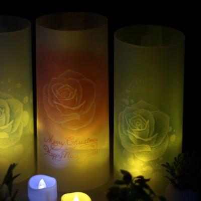 パステルでランタン作り(薔薇バージョン)の記事に添付されている画像