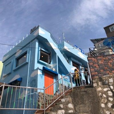 【渡韓レポ】釜山 甘川文化村「階段上の青い家」~2018年10月~の記事に添付されている画像