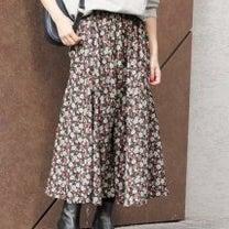 relumeリクエスト再度追加、即完売の花柄フラワープリントマーメイドスカート/の記事に添付されている画像