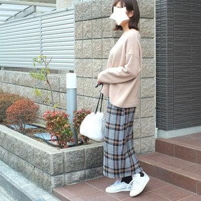 期間限定2000円に!ur'sのチェック柄スカートの記事に添付されている画像