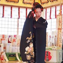 小川さとみ 奉納舞 於 高津宮/Satomi Ogawa Dedicatoryの記事に添付されている画像