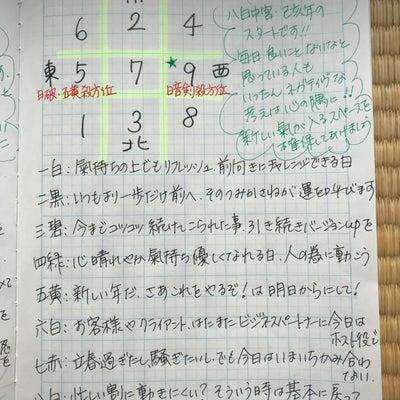 ★おやすみ前の ノートから 2月5日の九星さん★の記事に添付されている画像