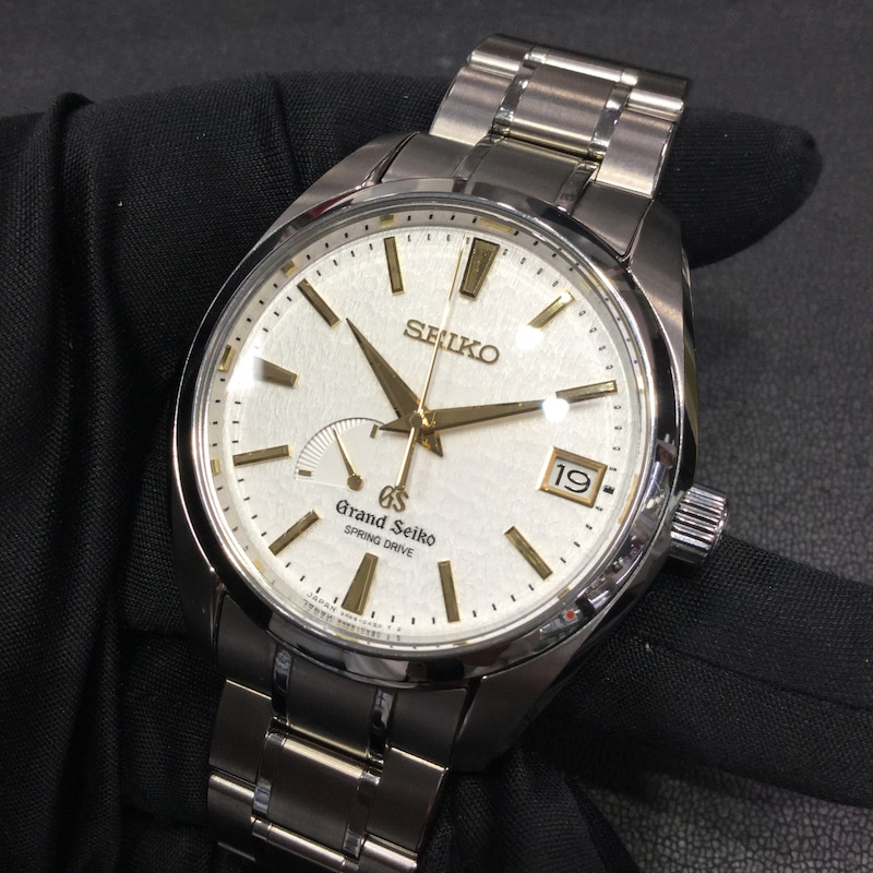 buy popular 3c126 b6c36 SOLD OUT】日本が世界に誇る時計メーカー グランドセイコーのご ...