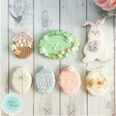 春色で♡イースタークッキーサンプル作りの記事に添付されている画像