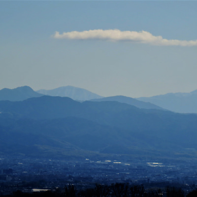 くろんど園地展望台より望む高見山そして大峰山!の記事に添付されている画像
