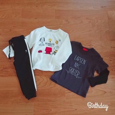 バースデイで息子服を購入♡の記事に添付されている画像