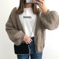 GUのヘビロテ服&体型カバーできるニットカーディガン♡の記事に添付されている画像