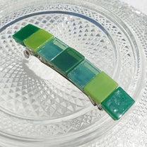 ガラスの橋『ブリッジ【エメラルド】』バレッタ新発売!の記事に添付されている画像