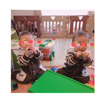 【双子9ヶ月】〜育児休暇中の正直な気持ち〜の記事に添付されている画像