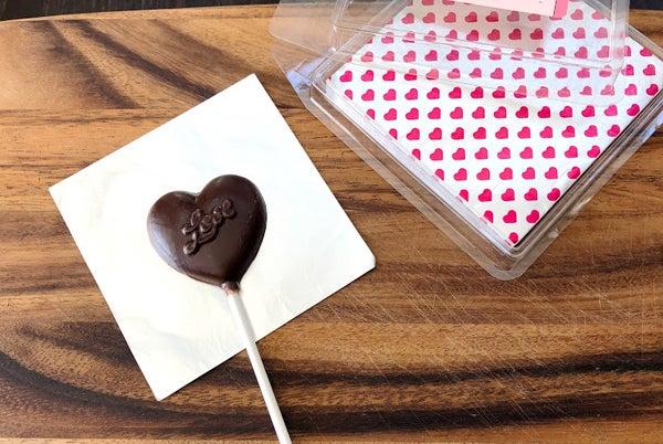 棒付きロリポップチョコレート作り方のポイント Girls And Sweets