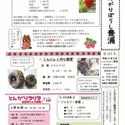 とんがりぼうし豊浦 2月の催し!の記事に添付されている画像