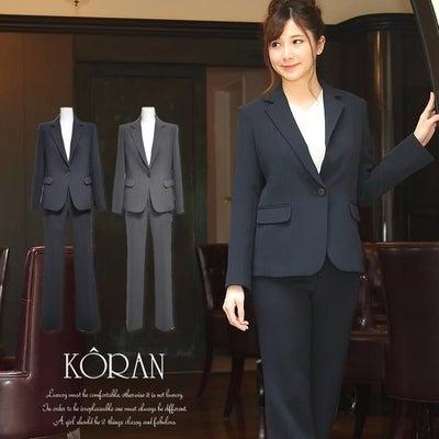【入卒式にベーシックスタイルのパンツスーツ】の記事に添付されている画像