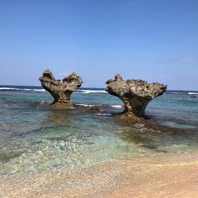 ハートロックと美ら海水族館の記事に添付されている画像