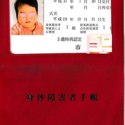 身体障害者手帳が届いた/サービス受給者証の申請の記事に添付されている画像