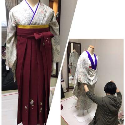 美容師Oさん 袴着付レッスンの記事に添付されている画像