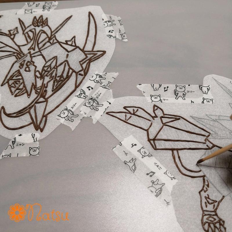 キャラチョコの作り方我流 ハンドメイド Natsu