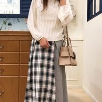 アウターを脱ぐ楽しみ♡シフォン袖の華やぎニットの記事に添付されている画像