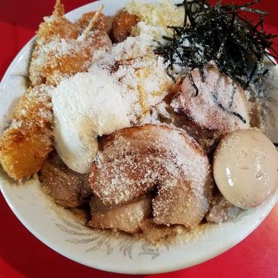 23。火の豚@久喜市☆5656チーズまぜそば➕味玉の記事に添付されている画像