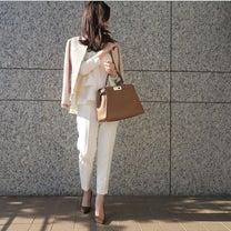 入園、入学にぴったりな着まわせるセットアップ♡の記事に添付されている画像