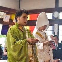 赤ふきの白無垢で仏前結婚式(仏前式)された新郎新婦様♪の記事に添付されている画像