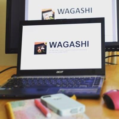 和菓子のレクチャーの記事に添付されている画像