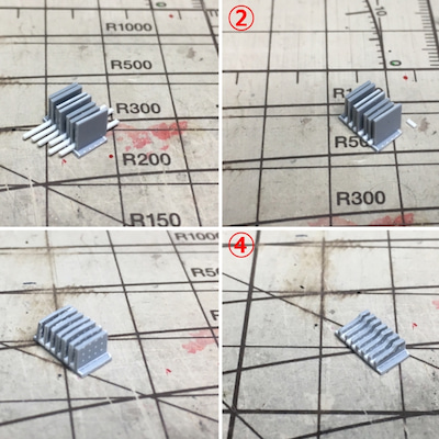 MGバンシィVer.ka 21 -放熱フィン工作続き-の記事に添付されている画像