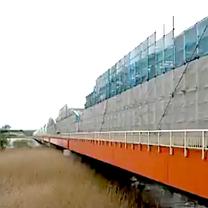 2019-184 橋-橋梁の錆止め,非鉄金属の充填接着施工・・たえず振動,風化にの記事に添付されている画像