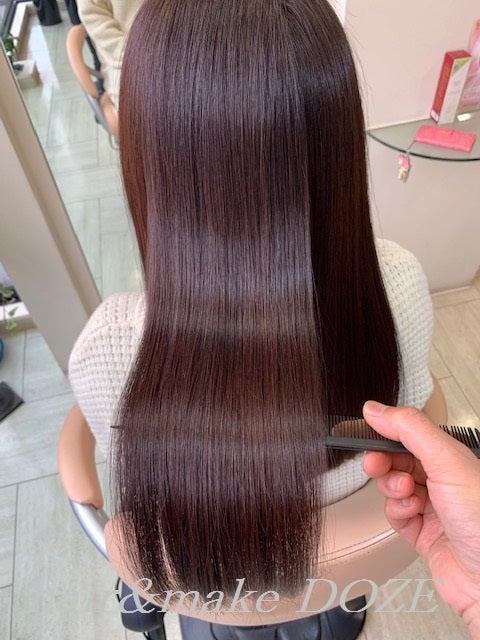 髪質改善プレミアムトリートメント3回目。