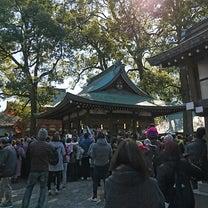 氷川神社の節分祭の記事に添付されている画像