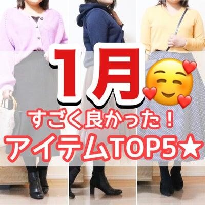 【1月まとめ】ぽっちゃり女子の買って良かったアイテムTOP5!の記事に添付されている画像
