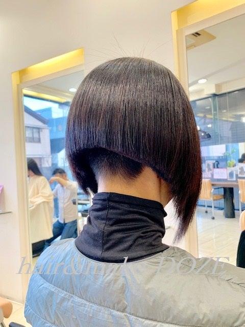 刈り上げ以外は髪質改善プレミアムトリートメント!(笑)